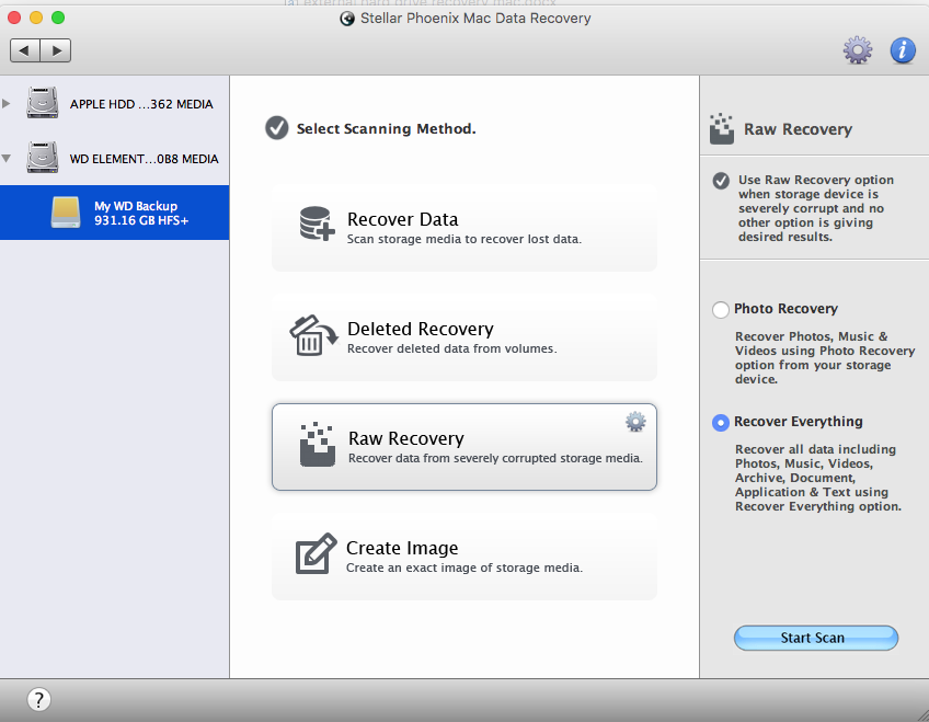 Mac drive recovery