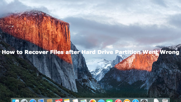 Mac Disk Partition Went Wrong
