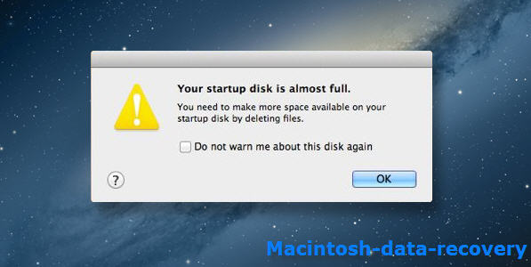 disk full error solved