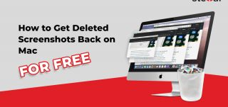 Get Deleted Screenshots Back on Mac free
