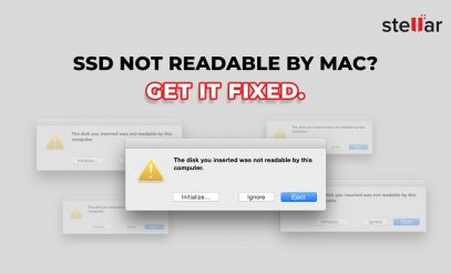 SSD not readable on Mac