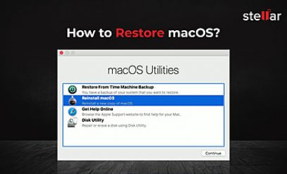 How to restore macOS