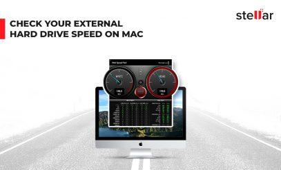Check External Hard Drive Speed on Mac