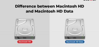 Difference between Macintosh HD and Macintosh HD Data