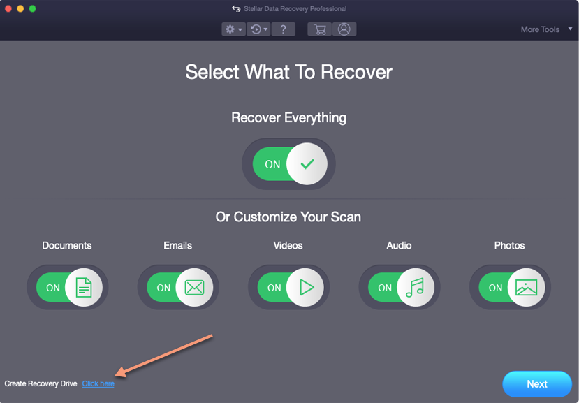 Create a USB Recovery Drive