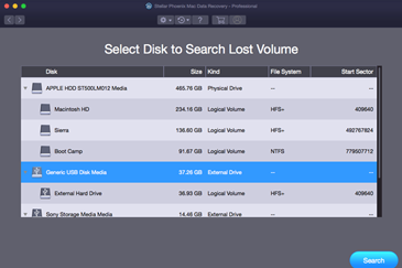 Deleted Volume Recovery