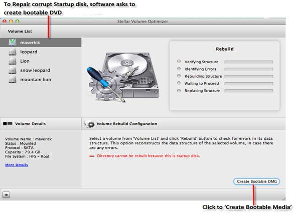 repair corrupt Mac disk