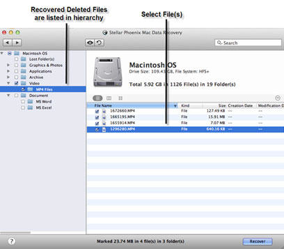 Mac recover deleted files
