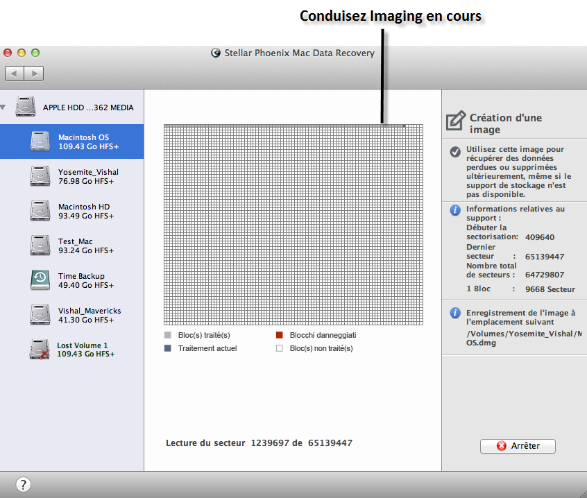 Créer une image disque Mac