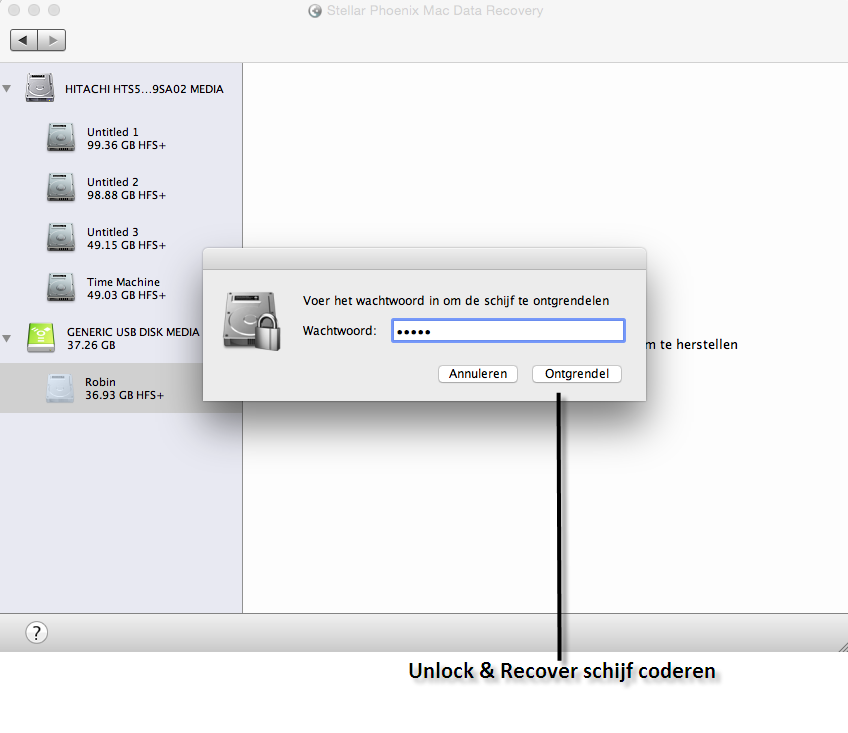 Encrypted file recovery