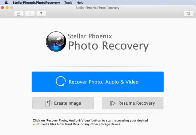 macOS Sierra photo recovery software