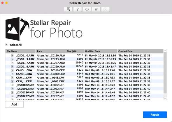 Repair Photo